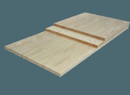 Деревянная площадка для лестницы Вельского леса
