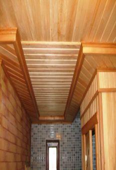 применение деревянного уголкa